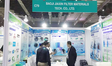 Congratulations on the success of our participation in the International Industrial Textiles and Nonwovens Exhibition 2019